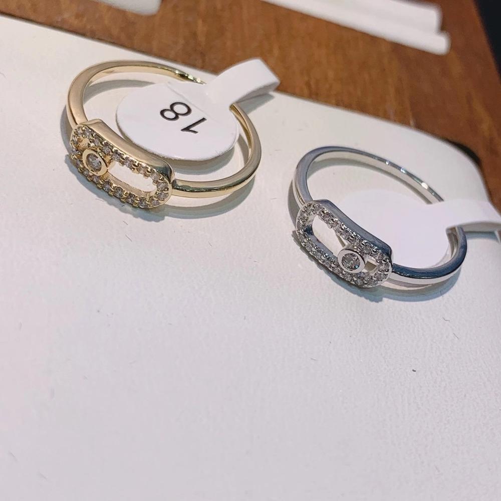 Luxury Elegant Brazil Initial Stackable Rings for Women Wedding CZ Finger Rings Beads Charm Ring Bohemian Beach Jewelry  J1918 2