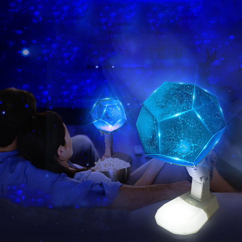 12 Constellations Celestial Star Astro Sky Cosmos Novetly Light Learning Reading Table Lamp Bedroom Home Decor Projector Lamp