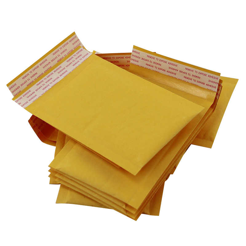 Adhesive Kraft Paper Kraft Bubble Mailers Packaging Bag Shipping Envelope Bag