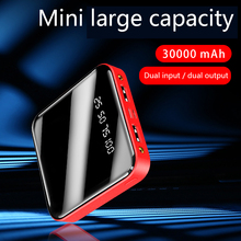30000mAh Mini Power Bank For Xiaomi Mi iPhone Samsung Powerb