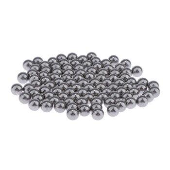 100 x Farbe Mischen Bälle-Rost-proof Edelstahl Kugeln für Mischen Modell Farbe-Edelstahl Mischen rührwerk Bälle, 5mm