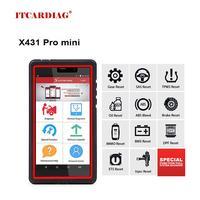 LAUNCH X431 Pro Mini OBD2 Scanner WiFi Full System Car Diagnostic Tool ECU Coding Actuation Test Key Programming LAUNCH X431 V