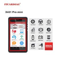 Launch X431 Pro Mini OBD2 Scanner Wifi Volledige System Car Diagnostic Tool Ecu Codering Bediening Test Programmeren Launch X431 V