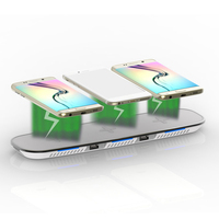 Triple Stand Wireless Charger Fast Charging Pad for iPhone 8/8 Plus iPhone X for Samsung Galaxy S9/S9 Phone charger for Nexus