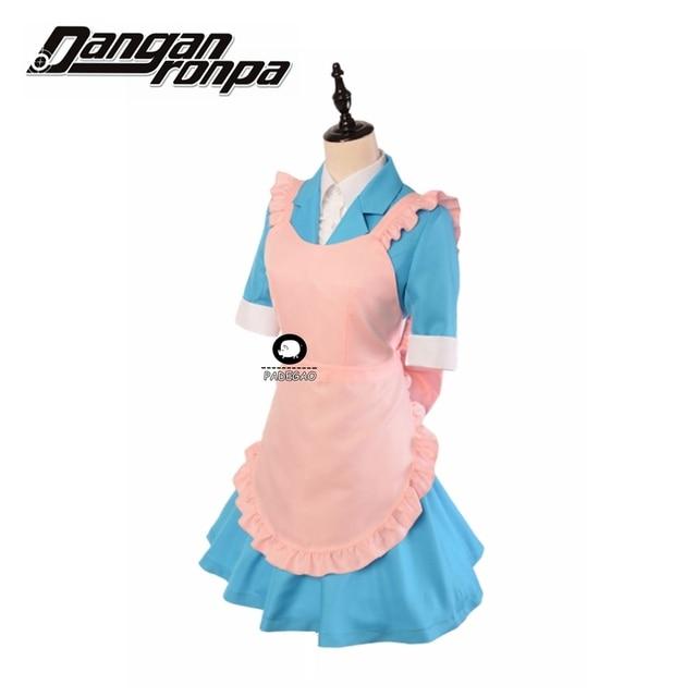 PADEGAO Anime Danganronpa 3: The End of Hope's Peak Academy - Side: Despair Chisa Yukizome Maid Suit Cosplay Costume