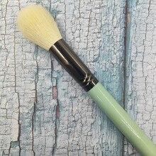 1Pcs High Quality Goat Hair Makeup Brush Powder Blush Polishing Brightening Brush Exquisite Copper Tube Multifunctional Makeup