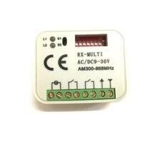 10 pces 2 canais receptor rx-multi ac/dc 9-30 v AM300-868Mhz fácil programa muito