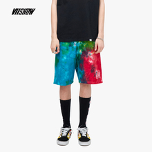 VIISHOW 2019 summer new cotton casual shorts men five mens loose breathable hip hop male multicolor KD1261192