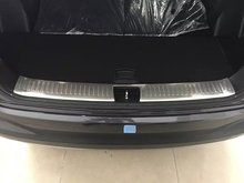 цена на For KIA Sorento L 2015 1PC Stainless Steel Car Rear Trunk Shade Cover Shield Trim Car Styling Accessories