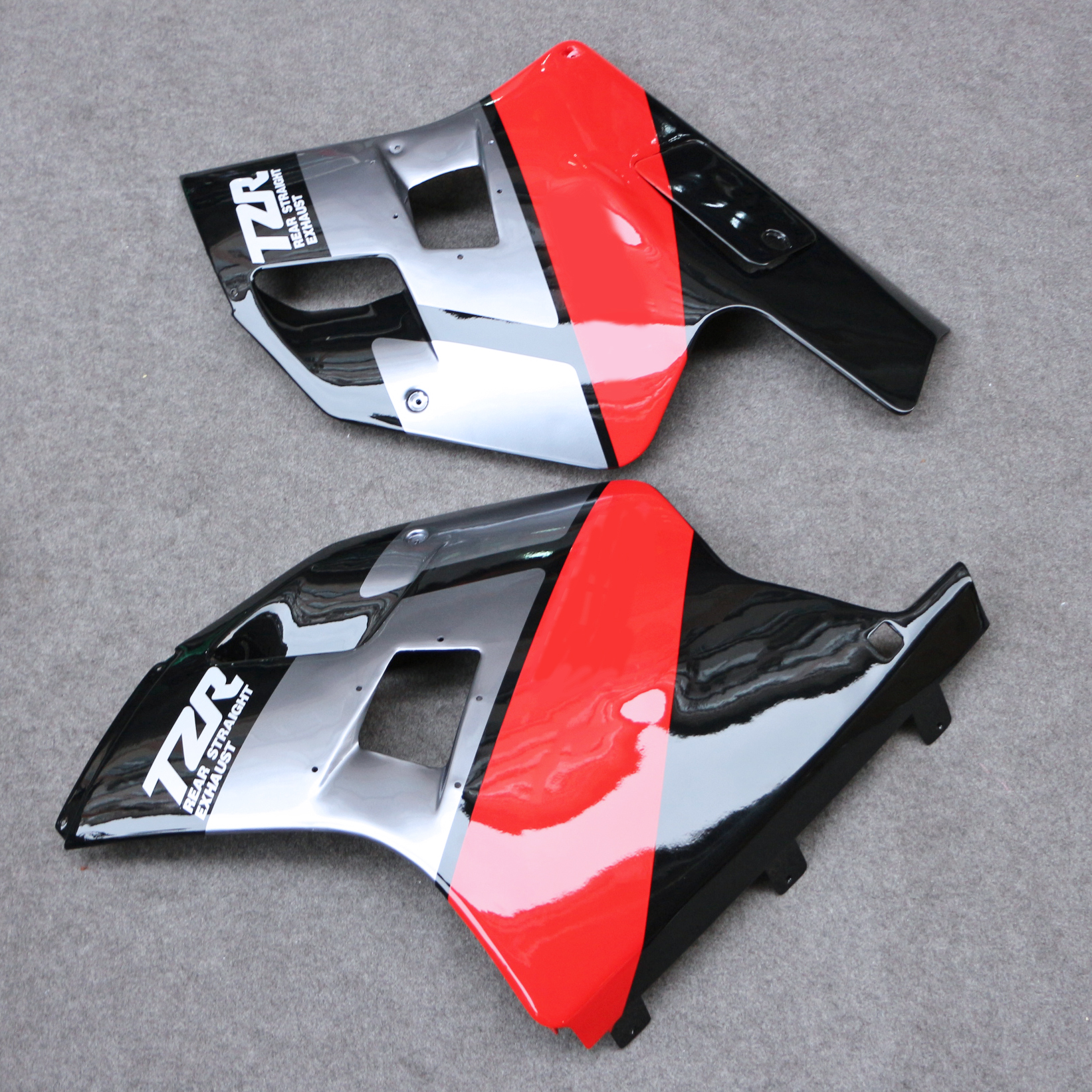 Bodywork Panel Upper Half Fairing Low Belly Pan For TZR250 3MA 1988-1990