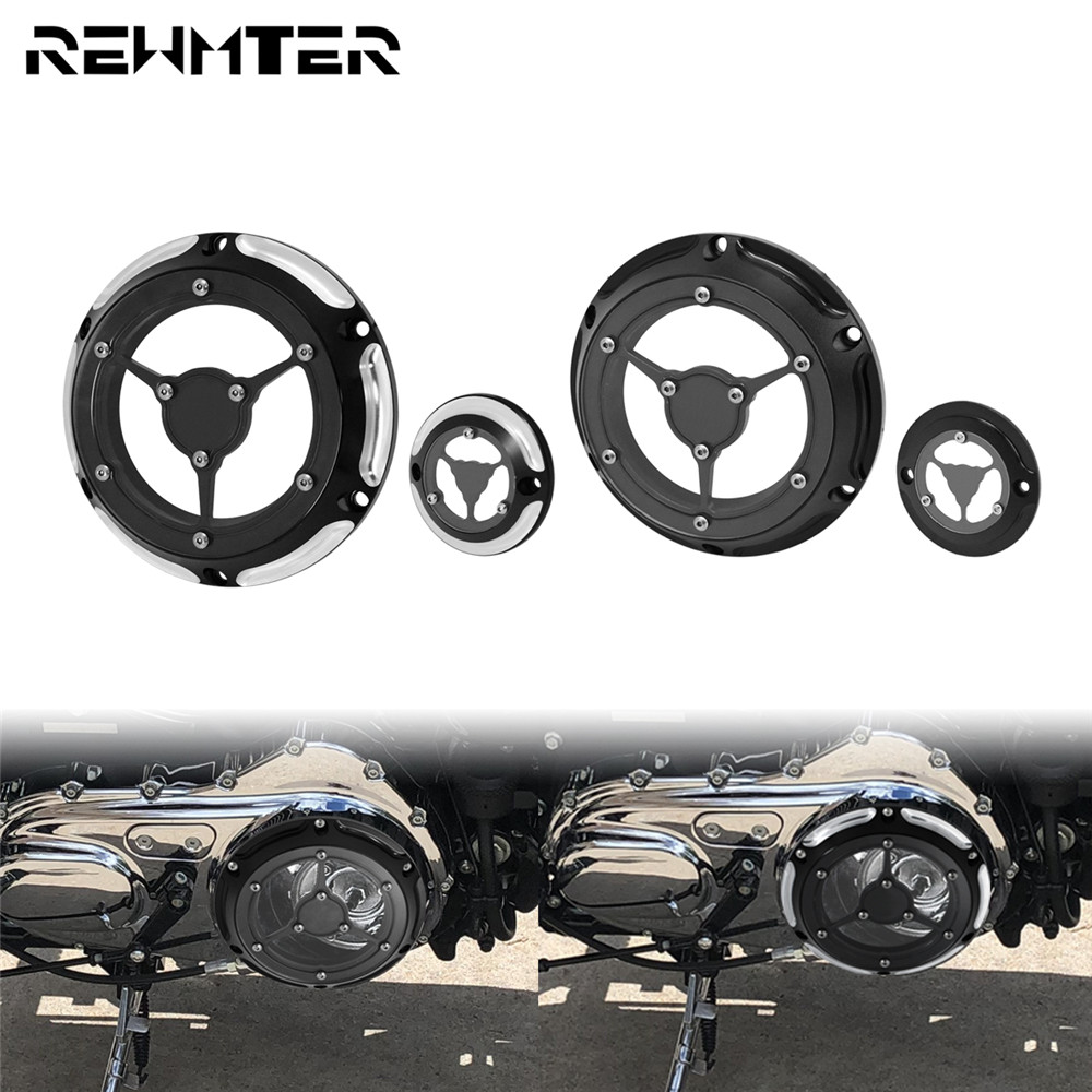 3 in 1 Skull Engine Derby Timer Cover Chain Inspection Cover ...