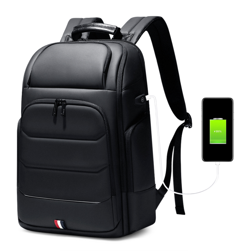 FRN Multifunction Men Backpack USB Charging Wateproof Backpack Male 15.6 Inch Laptop Bag Business Large Capacity Travel Bag image