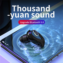 KEBIDU Mini auriculares inalámbricos intrauditivos deportivos con micrófono, manos libres, resistentes al agua, con Bluetooth 5,0, PK S650 M165 XG12