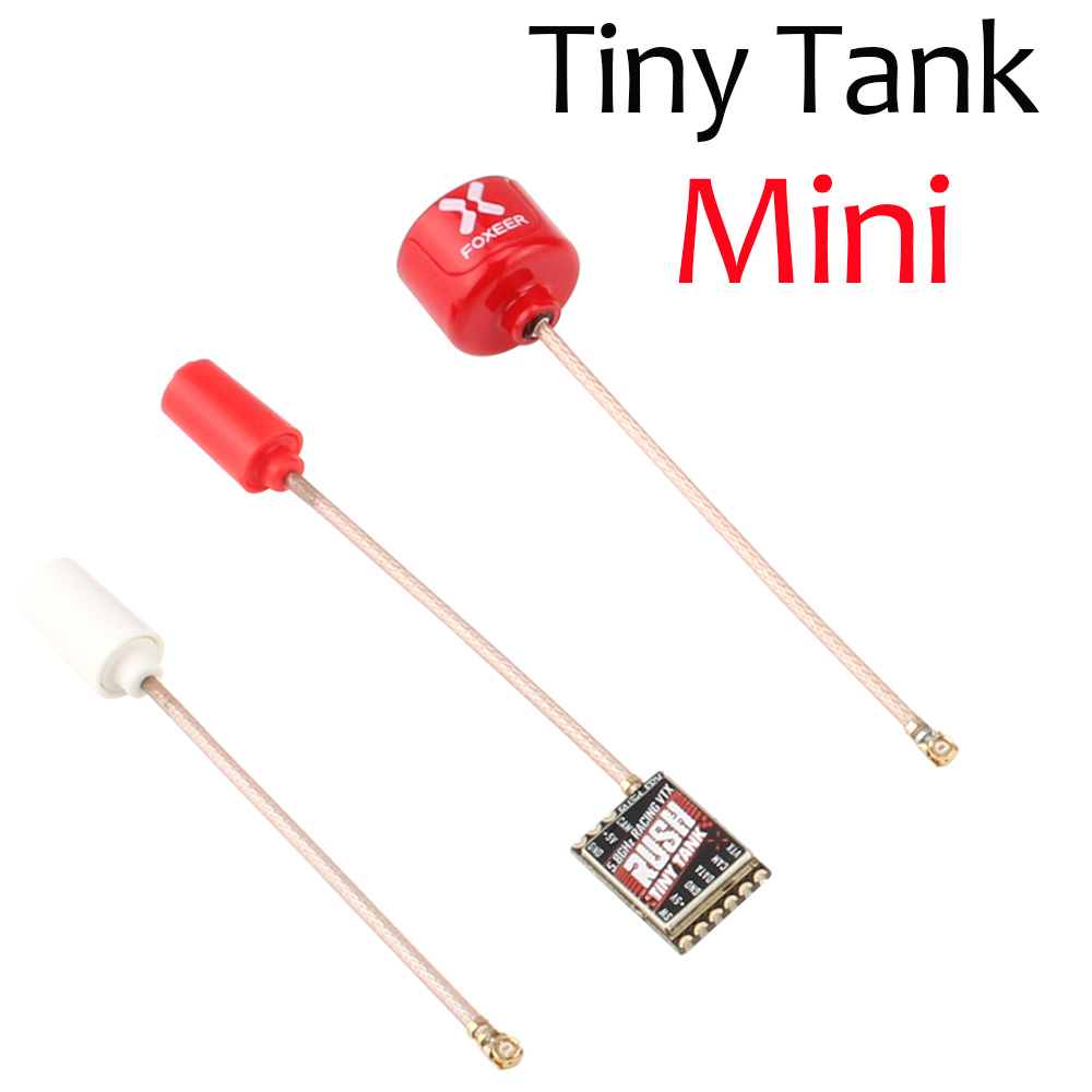 RUSH Tiny TANK FPV Video Transmitter VTX 48CH 350mW With EMAX Nano Foxeer Lollipop 3 Antennna For RC FPV Racing Toothpick Drone