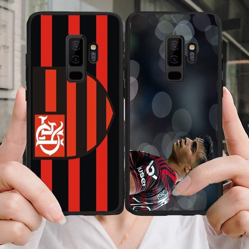 Flamengo RJ FC Phone Case For Samsung Galaxy S6 S7 Edge S8 S9 Plus A3 A7 A5 A8 A9 C5 J5 J7 S5 DIY Case Soft TPU For Reinier