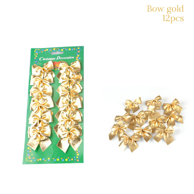 1set 12pcs Gold
