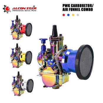 Alconstar- 21 24 26 28 30 32 34mm 2 4T Keihin PWK Carb gaźnik z wiatr puchar dla skuter motor terenowy motorower ATV 90-400CC wyścigi tanie i dobre opinie CN (pochodzenie) ALUMINUM 0 7kg pwk carburador Iso9001 SCL-2015010019-C 12cm 75cc - 250cc for Keihi Koso pwk oko carburador