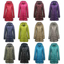 Ultralight Size Slanken Parka Fit Hooded Uitloper Puffer Plus Jas Jas Vrouwen(China)