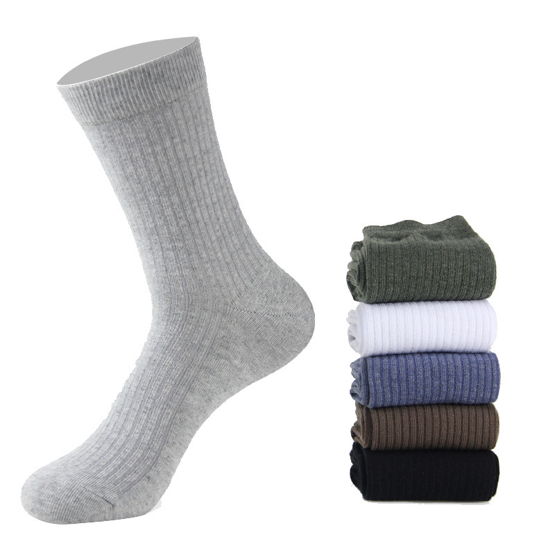 Jeseca Autumn Winter Thick Warm Men Socks 2019 New Fashion Cotton Soft Business Male Crew Sock For Mens Christmas Sock Gifts