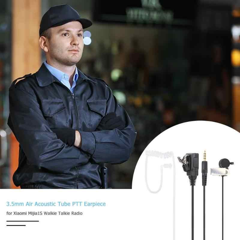 3.5mm PTT powietrza akustyczna słuchawka słuchawki do Xiaomi Mijia 1S akcesoria Walkie Talkie
