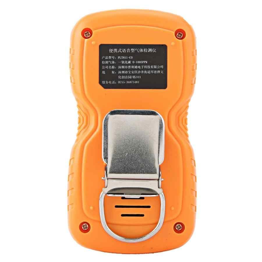 Портативный цифровой дисплей CO детектор угарного газа тестер детектор газа