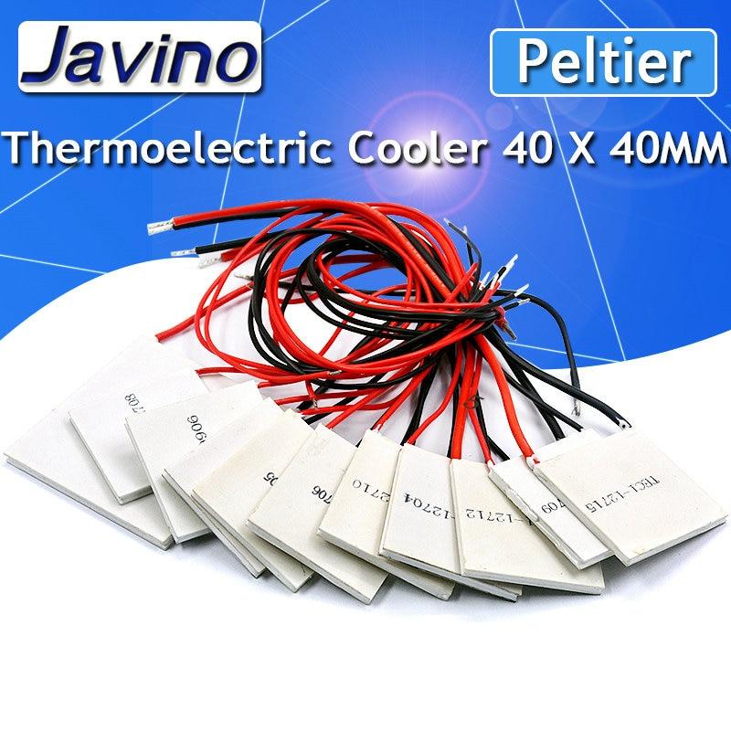 TEC1-12710 Heatsink Thermoelectric Peltier Cooler Cooling Module 40mm x 40mm