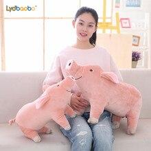 Gran venta 25cm lindo cerdo de dibujos animados de peluche de juguete suave Animal cerdo muñeca para regalo de niños juguete regalo Kawaii para niñas
