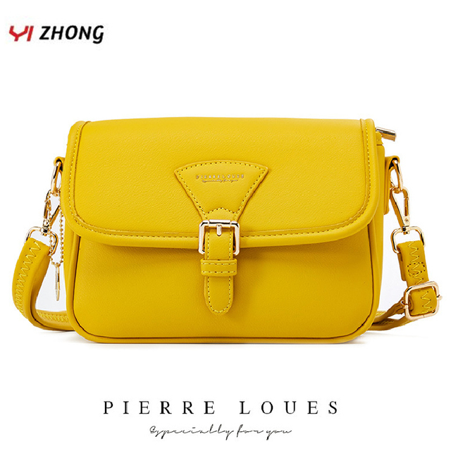 YIZHONG borsa a tracolla in pelle semplice borse a tracolla per donna borse e borsette di lusso borse da donna Designer Famale Messenger Bag
