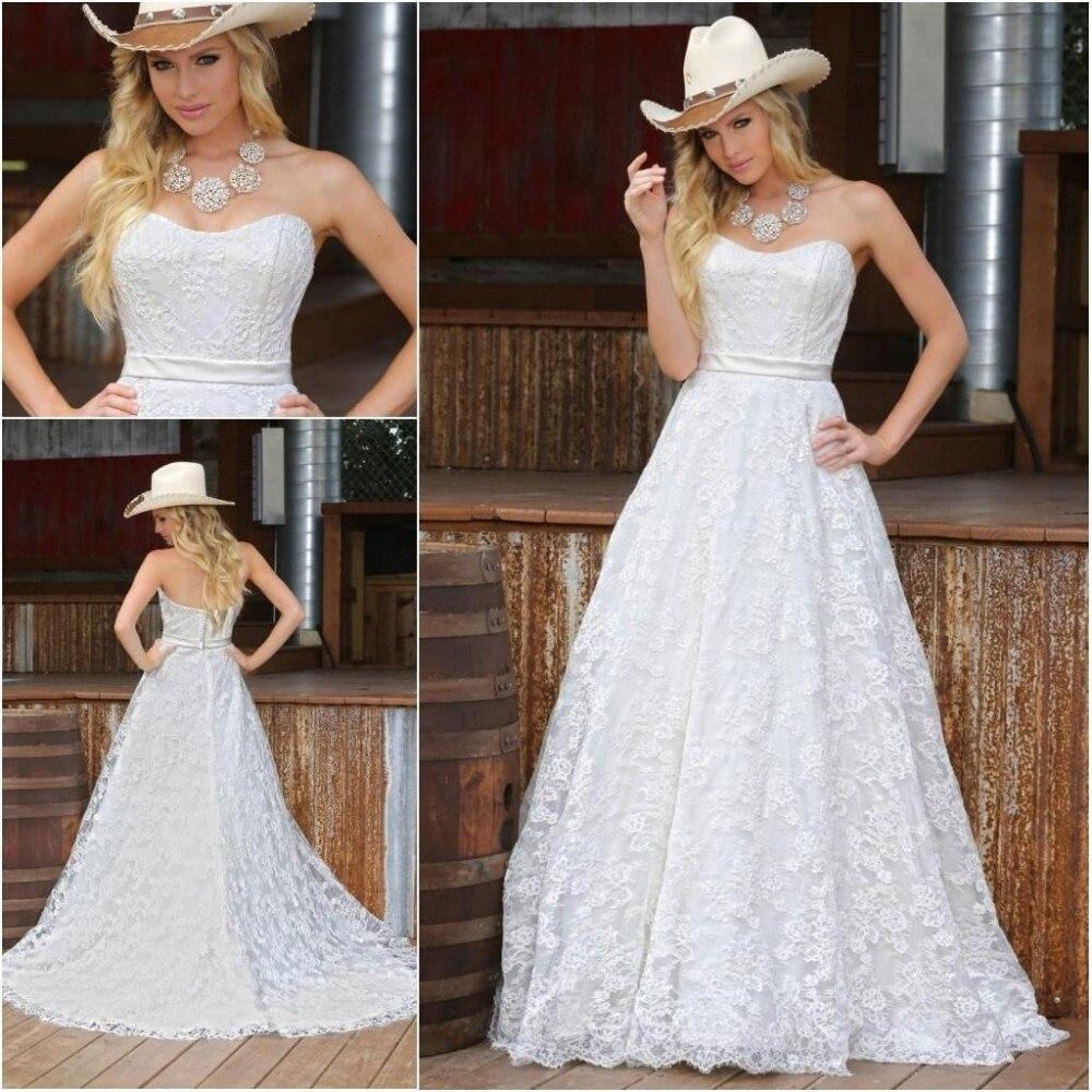 Custom Vintage 2018 Sweetheart Lace Long Formal Sleeveless A-line Sweep Train Zipper Elegant Bridal Gown Bridesmaid Dresses