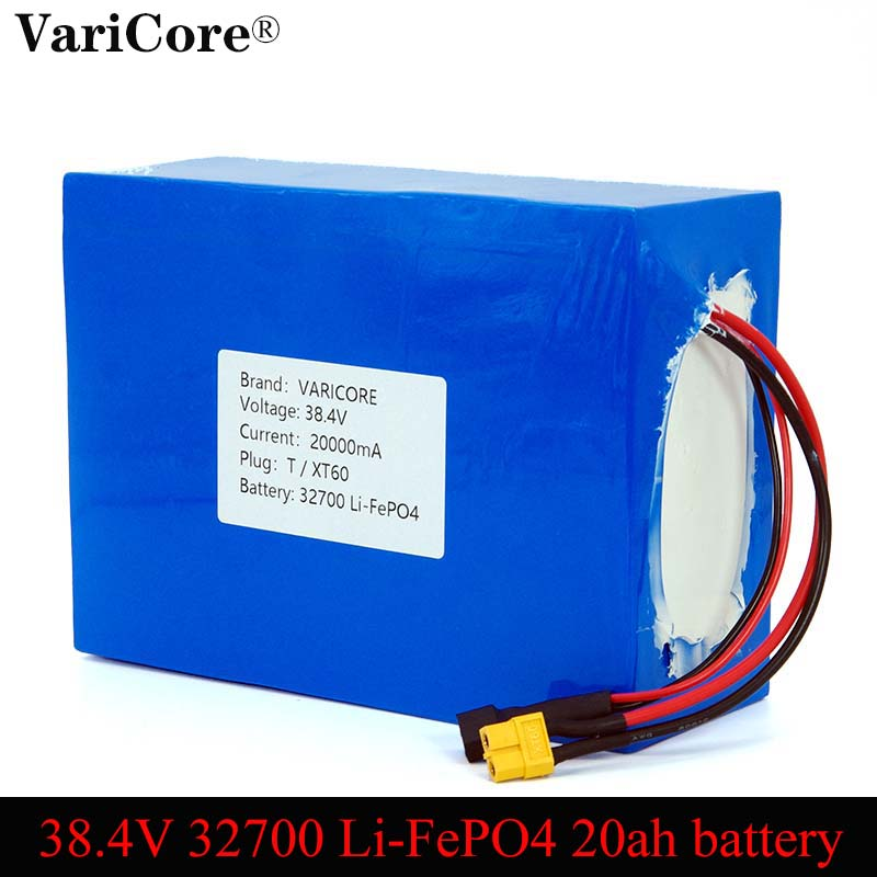 38.4V <font><b>32700</b></font> Lithium Iron Phosphate <font><b>Battery</b></font> <font><b>Pack</b></font> 25A Maximum Discharge 60A Electric Vehicle Rechargeable <font><b>Battery</b></font> Free Shipping image