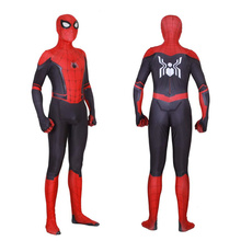 Kids Adult SpiderMan costumes Far From Home Peter Parker Cosplay Costume Zentai Spider