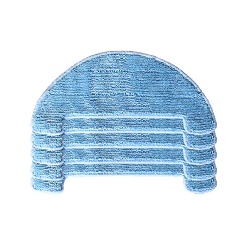 4x Wet /& Dry Mop Cloths Pad Replacement For Coredy R500 Vacuum Cleaner Equipment