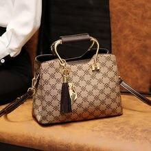 Брендовые дизайнерские женские сумки с кисточками через плечо