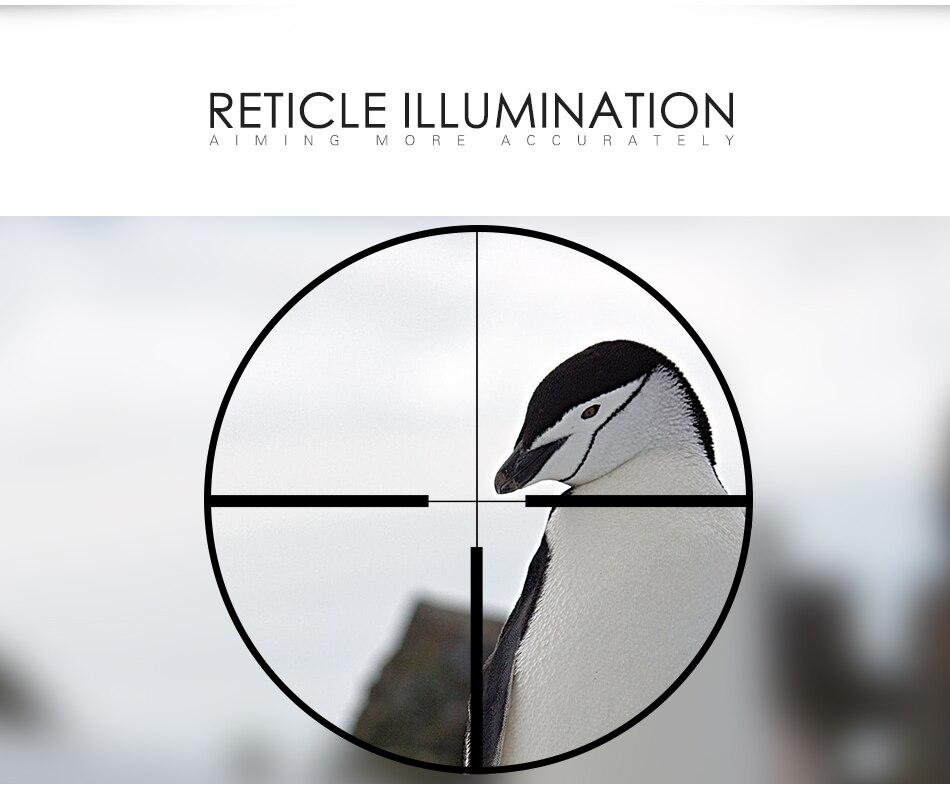 3-9x32 riflescope caça cruz ajustável ao ar