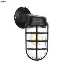 Светодиодный настенный ретро светильник iwhd в американском