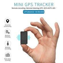 جهاز تتبع صغير بنظام تحديد المواقع سيارة المحمولة مع الصوت لتحديد المواقع لتحديد المواقع للمركبة مكافحة سرقة في الوقت الحقيقي تتبع للحيوانات الأليفة طفل ل iOS أندرويد