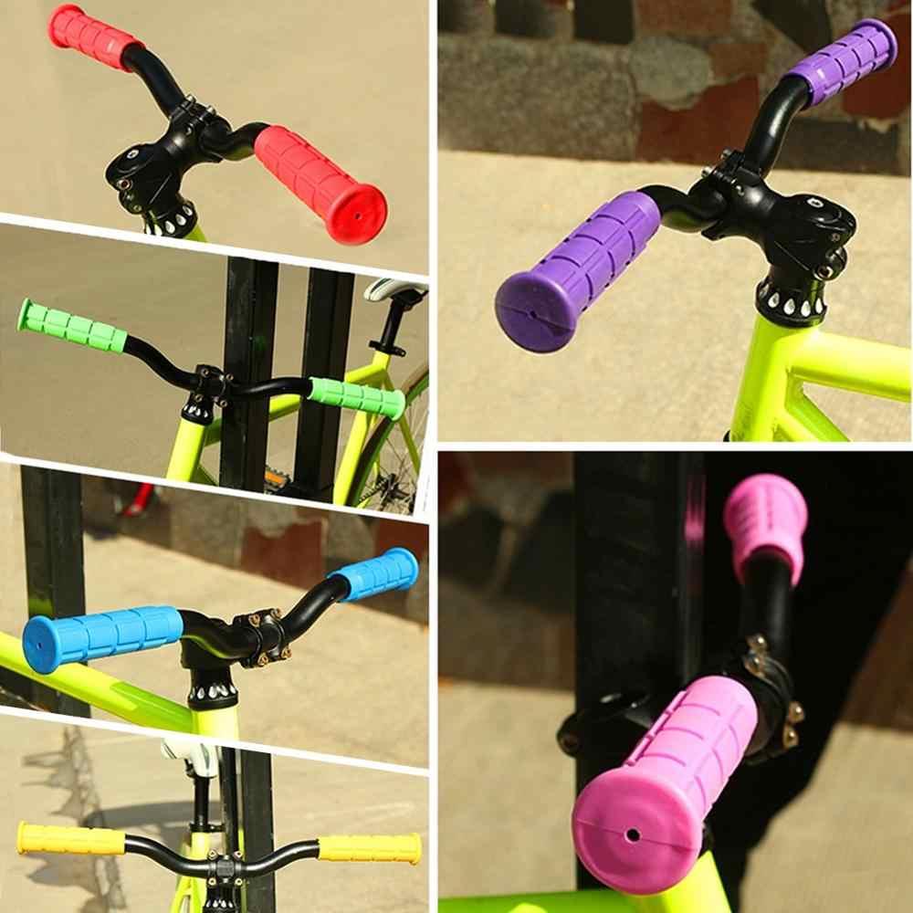 1 쌍 부드러운 고무 플라스틱 야외 스포츠 자전거 자전거 bmx mtb 사이클 산악 자전거 자전거 핸들 바 테이프 핸들 바