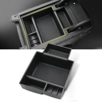 Ruiya caixa de armazenamento de braço do carro para leon mk3 leon cupra 5f 2018 2019 console central caixa armazenamento auto interior acessórios armazenamento