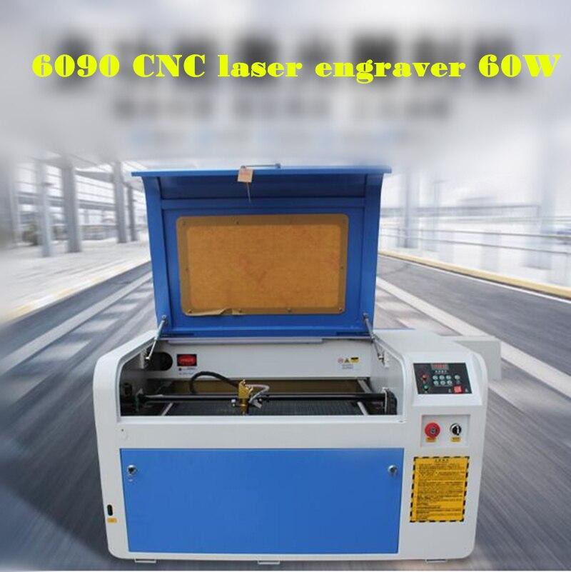 2019 NEUESTE Laser Gravur 600*900mm 60W Co2 Laser Stecher Schneiden Maschine DIY Laser Cutter Kennzeichnung CNC maschine