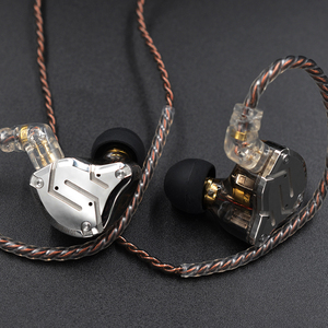 Image 5 - KZ ZS10 PRO 1DD + 4BA HIFI 메탈 헤드셋 하이브리드 이어폰 스포츠 소음 차단 헤드셋 AS10 ZSN PRO CA16 ZSX C12 V90 VX T4