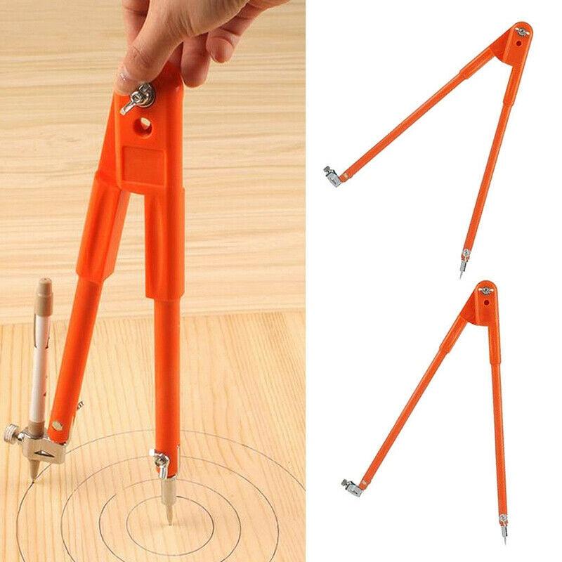 1pcs Large Carpenter Compasses Precision Pencil For Woodworking Marking Tool WXV Sale