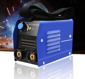 20-250A инвертор дуговой электросварочный аппарат IGBT MMA дуговой ZX7-250 сварочный аппарат