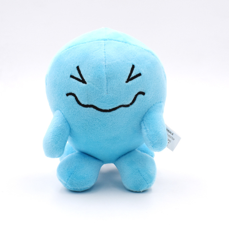 15cm Rocket Team Wobbuffet Plush Eevee Toy Cute Pikachued Ex Gx Mega Doll for Kid Gift Kawaii image