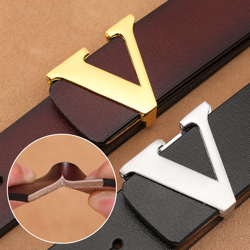 Plus Size 140 150cm Smooth Buckle Designer Belts Men Fashion Luxury Famous Brand Genuine Leather Belt Male Classic Waist Strap