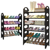 4/6/8 Tier Combination Shoes Rack Simple Assembly Shoes Shelf Storage Rack Bedroom Dormitory Shoe Organizer JC056