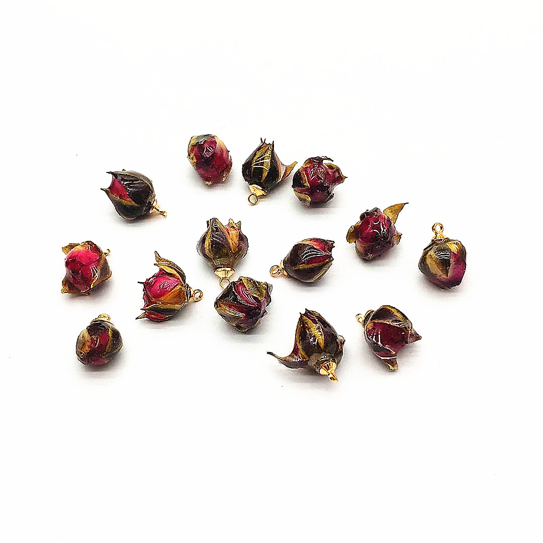 New arrival! 40pcs Mix different size Natural Flower charm for Earrings DIY parts,Jewelry Accessories Findings & Component
