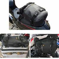Sac de siège arrière moto rcycle barre de protection moto rcycle sac latéral sac moto sac étanche sacoche moto moto poche arrière croisée