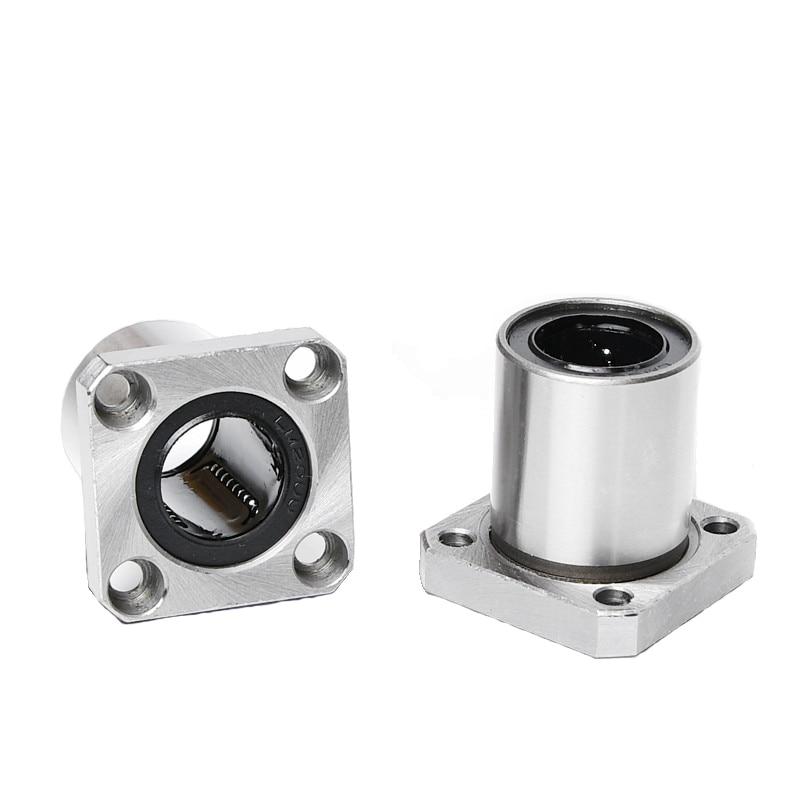1Pcs LMK20UU 20mm Square Flange Linear Ball Bearing For 3D Printer //CNC Router