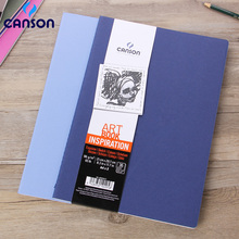 2pcs/Set Canson 96g/m2 Inspiration Series Watercolor Paper A6/A5/A4  Hand Painted Notebook Sketch Graffiti