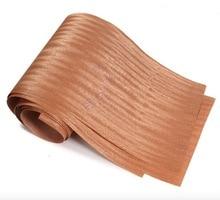 5pcs  L:2.5Meters  Width:15cm Thickness:0.2mm Natural Wood Veneer Thin Speakers Hand Veneer Furniture Edge Strip